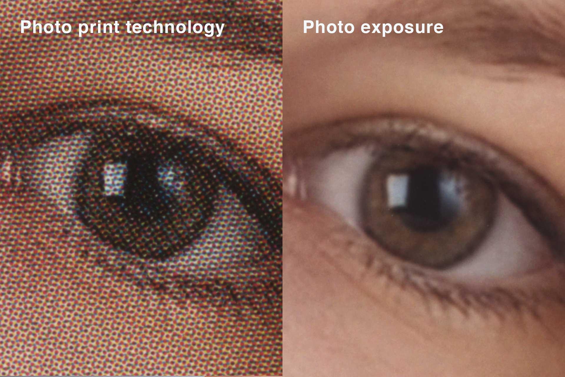 Photo exposure – long-lasting and brilliant